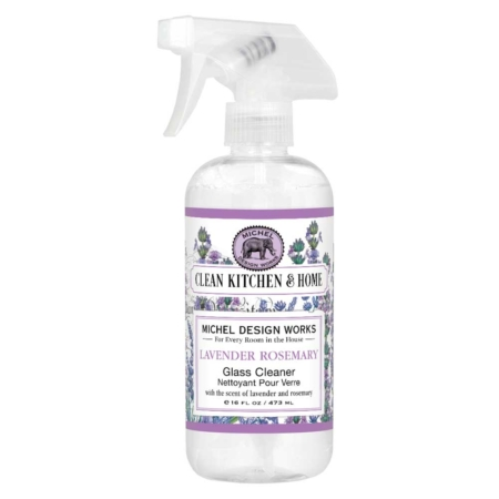 Michel Design Works Lavender Rosemary Glass Cleaner
