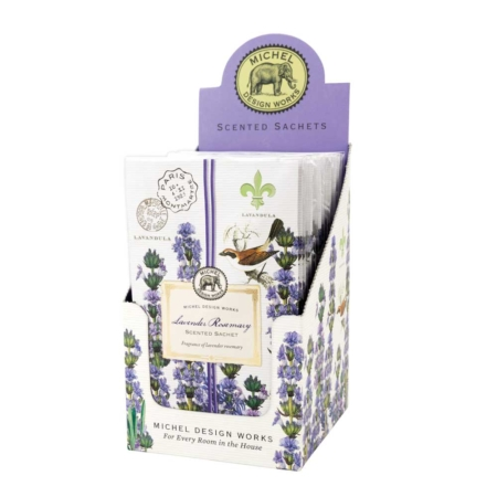Lavendar Rosemary Scented Sachet Michel Design Works The Laundry Evangelist