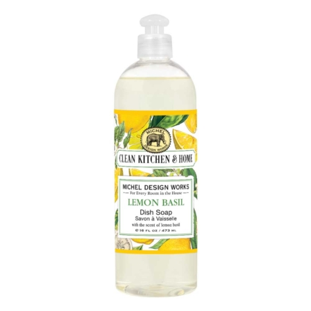 Michel Design Works Lemon Basil Dish Soap