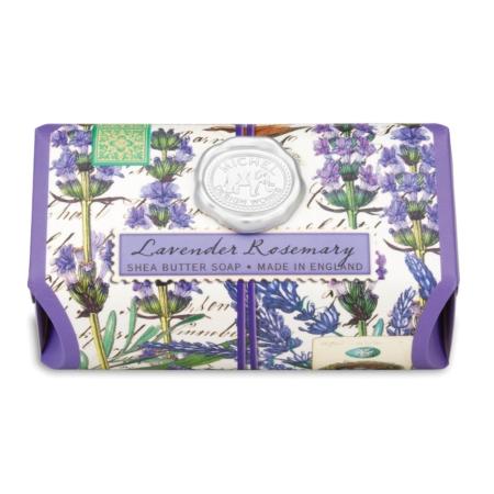 Lavender Rosemary Large Bath Soap Bar