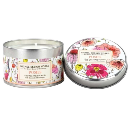 Posies Travel Candle
