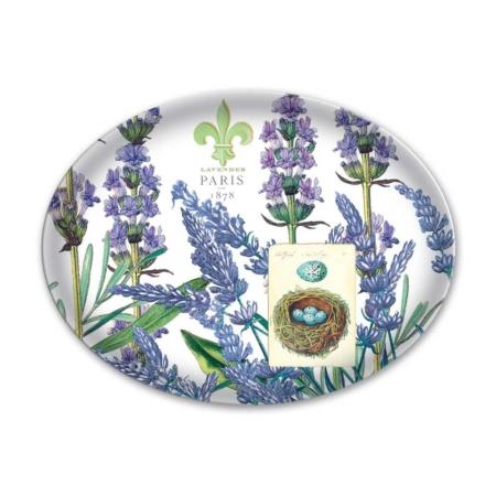Lavender Rosemary Glass Soap Dish