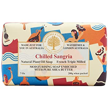 Wavertree and London Chilled Sangria Shea Butter Soap