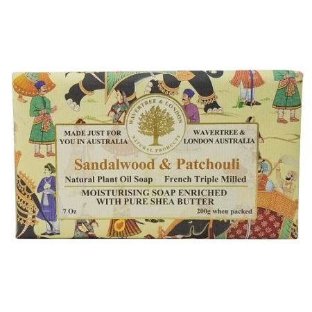 Wavertree and London Sandalwood and Patchouli Shea Butter Soap