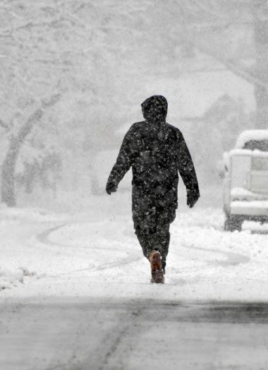 Snowstorm in Hyattsville
