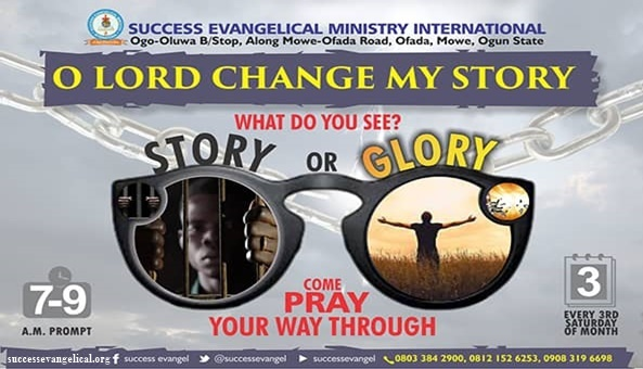 Lord, Change My Story