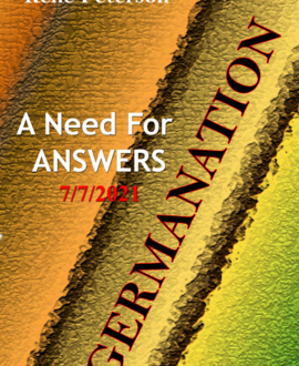 Germanation - An Need for answers - 7/7/2021