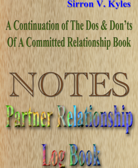 Notes Partner Relationship Log Book
