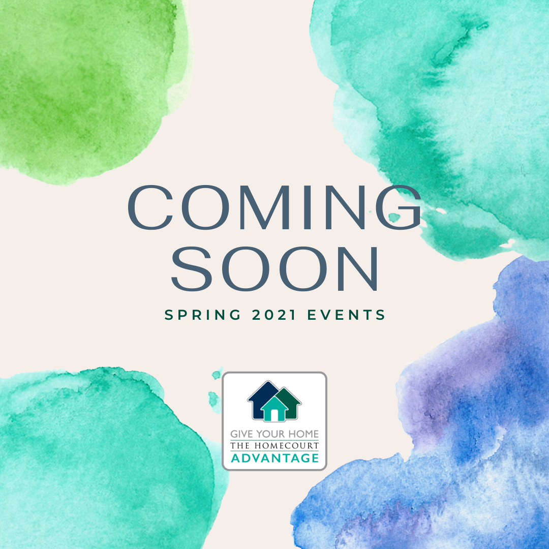 Spring 2021 Events Coming Soon