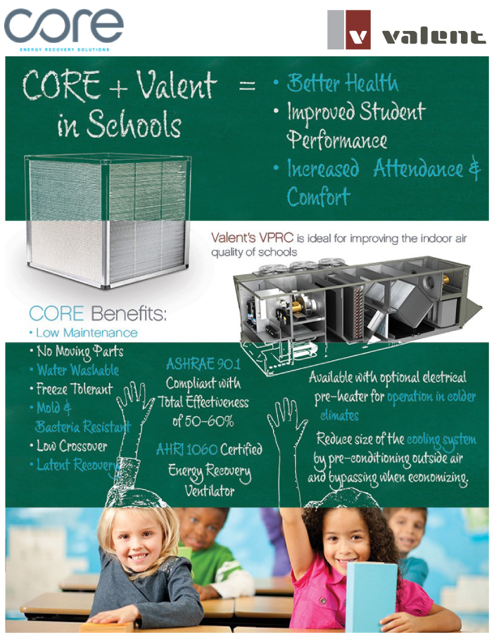 Core + Valent in Schools | Better Air Quality, Better Health, Better Student Performance