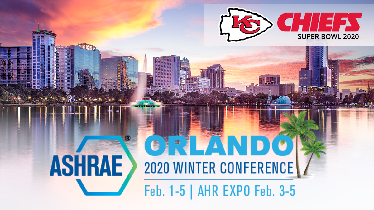 Join Us for the 2020 ASHRAE WINTER CONFERENCE   ORLANDO, FL   February 1-5