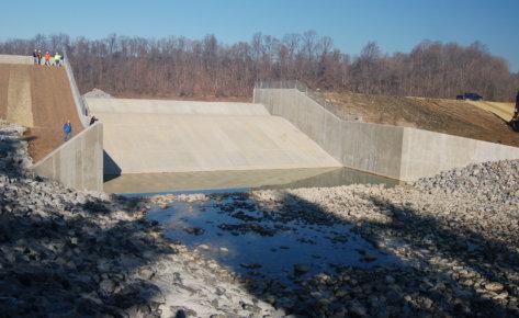 Speedwell Forge Lake Dam