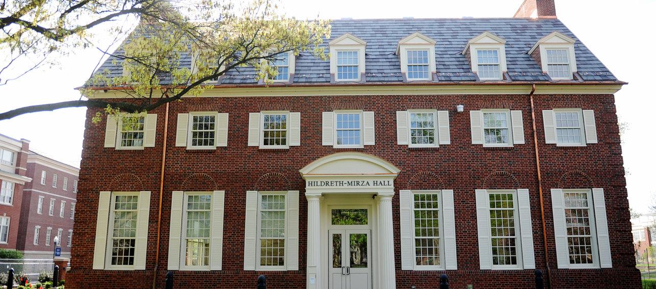 Hildreth-Mirza Hall at Bucknell University