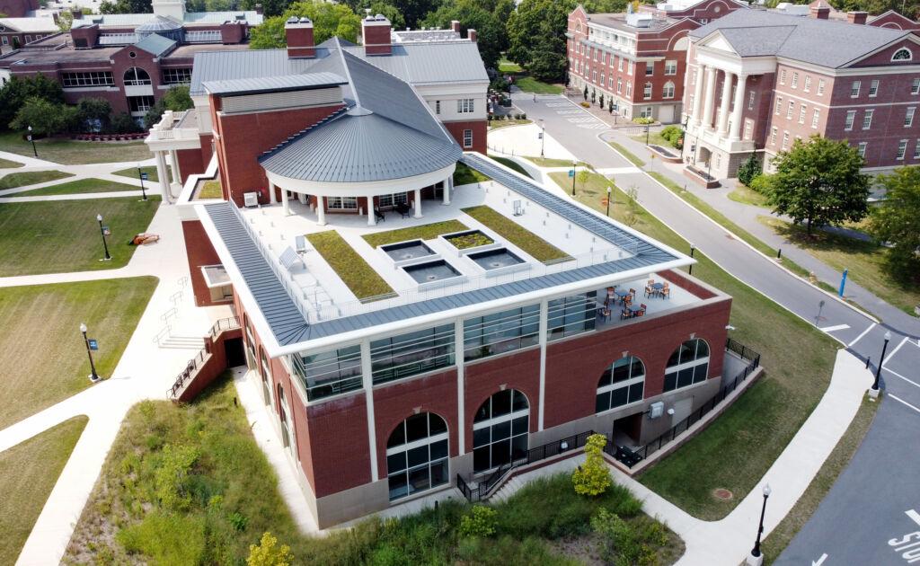 Aerial Photo of Bucknell Academic East