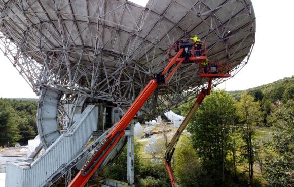 Mechantech Satellite Dish Demolition