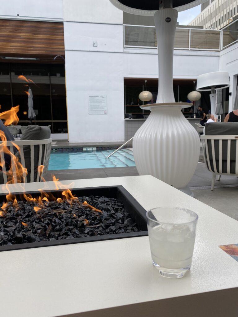 hotel arts poolside