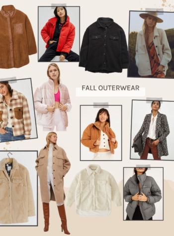 shop fall jackets + coats