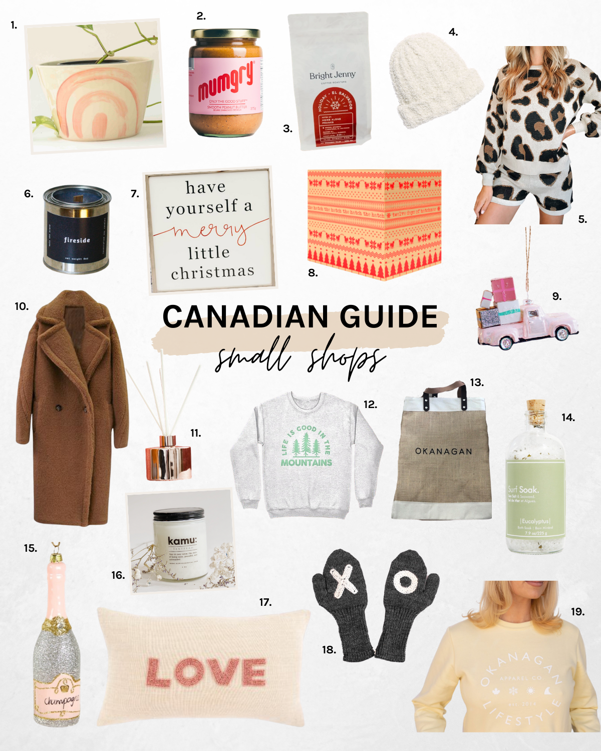 Canadian small shop gift ideas