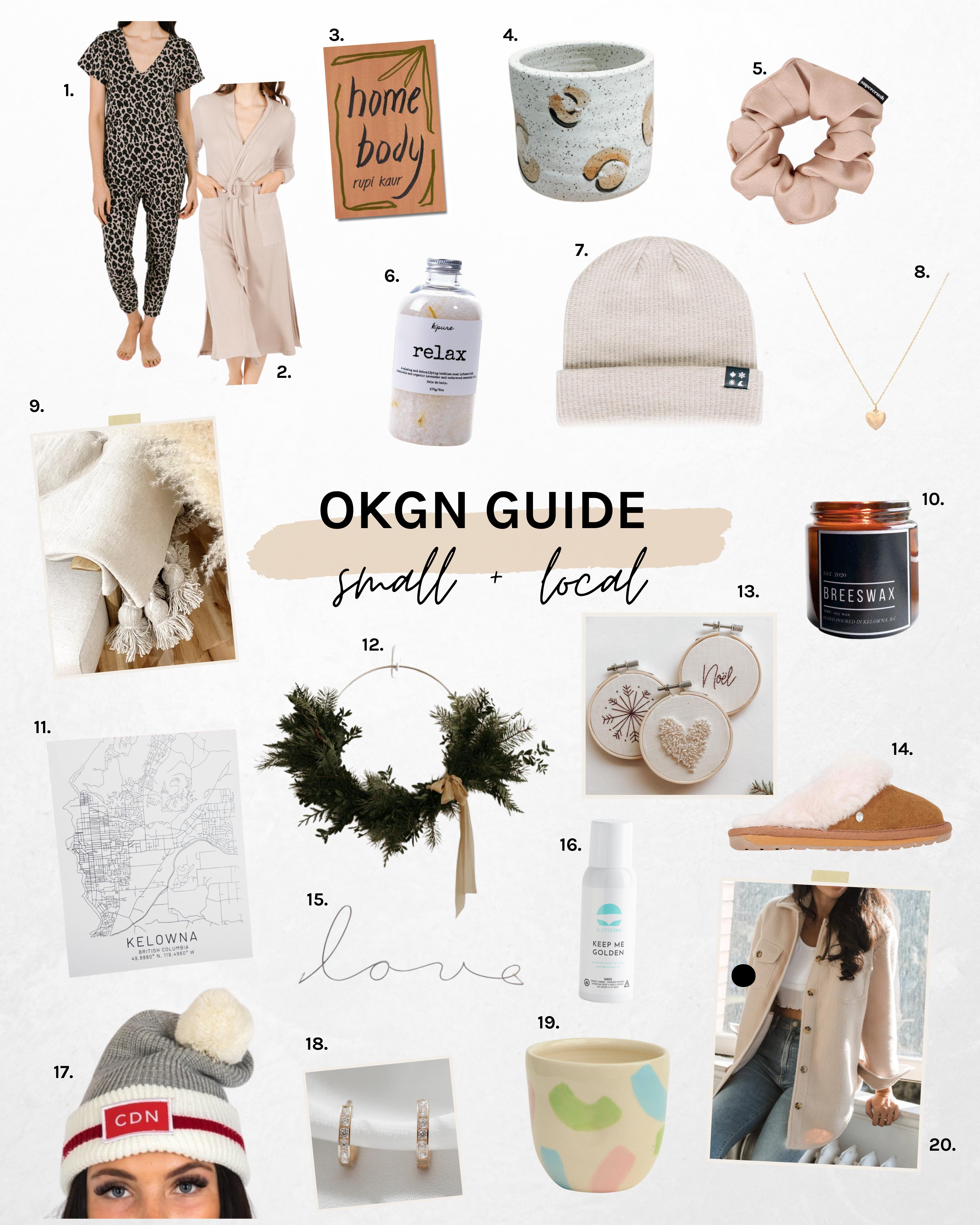 Okanagan gift ideas