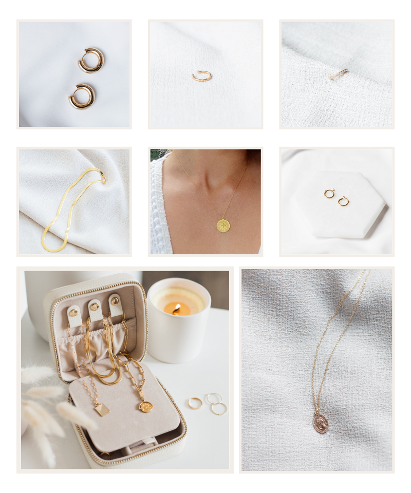 All of my favourite lavender & grace jewels.