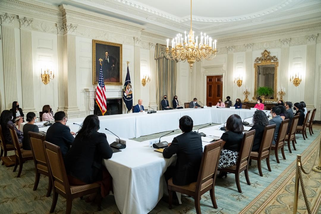 www.asianjournal.com: AAPI leaders meet Biden, Harris at White House to discuss hate crimes, voting rights —