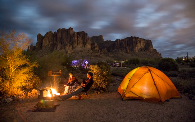 Best Camping Spots in Arizona The Lost Dutchman