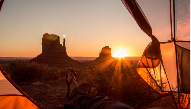 Best Camping Spot in Arizona - The View