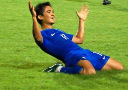 Soccer Smiles fron Sunil
