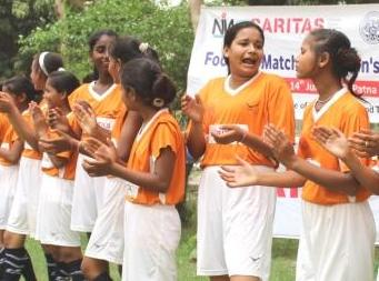 Her soccer skill prompted a school football field for girls!