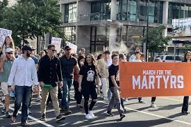 US: Marching for the Martyrs