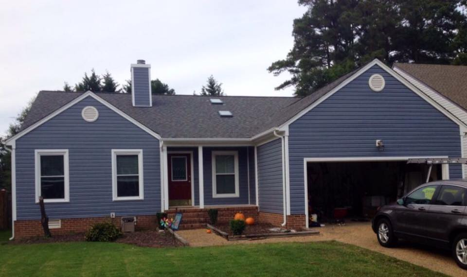 Roof completed by Alpine Roofing that is 3 years old.