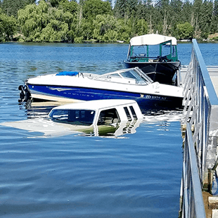 We're here to help! With emergency watercraft services