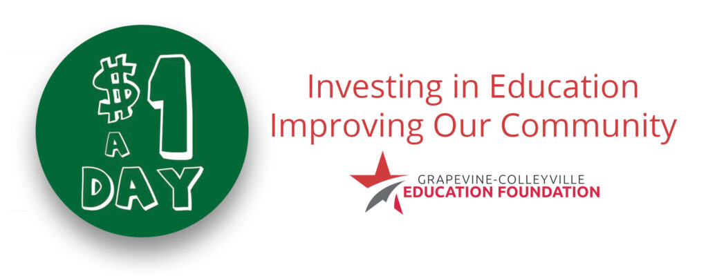 Investing in Education Improving Our Community $1 A Day