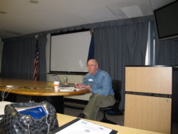 Bobby Corrigan teaching at his rodent academy in NYC.