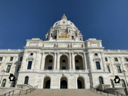 Entrance to Minnesota State Capital Building
