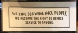 Is this your company's service policy? Should it be?