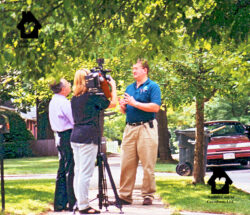 Sy Becker a reporter for WWLP 22 News of Springfield, MA