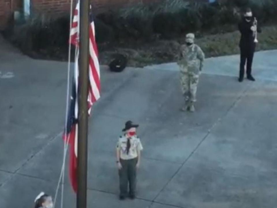 Corey Veterans program taps ceremony