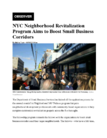 01-31-2017 Observer_NYC Neighborhood Revitalization Program Aims to Boost Small Business Corridors