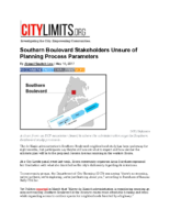 05-18-2017 City Limits_Southern Boulevard Stakeholders Unsure of Planning Process Parameters