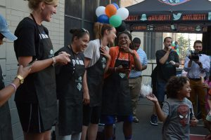 Garden of Dreams BBQ at WHEDco Summer Arts Day Camp, photo 2.