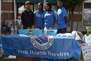 Teen Health Services at Bronx Summer Fest 2016.