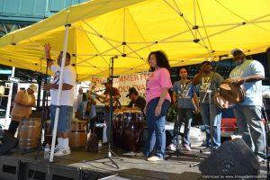 5 en Plena at Bronx Summer Fest 2016.