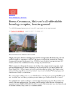 01-13-2017 Curbed NY_Melrose all-affordable housing complex breaks ground