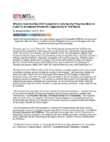 04-27-2018_CitiLimits_Whedco Selected By Citi Foundation