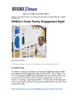 06-23-2018 BronxTimes_Family Engagement Night