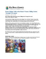 09-21-2018 Bronx Chronicle_Bronx Rising Talk to the Hand