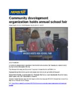 09-26-2018 News 12 Bronx_Community development organization holds annual school fair