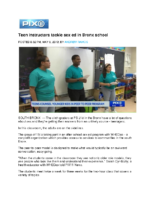 05-08-2019 PIX11_Teen instructors tackle sex ed in Bronx