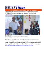 07-31-2019 Bx Times_PRIDA Ponce Vejigante Mask Workshop at BMHC
